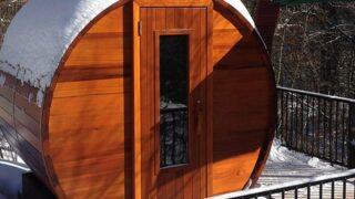Le migliori saune a botte